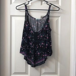 {Urban Outfitters} Floral Tank   XS